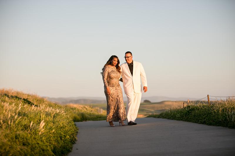 Half moon bay Ritz Carlton engagement photos - Lavette and Francisco more photos-37