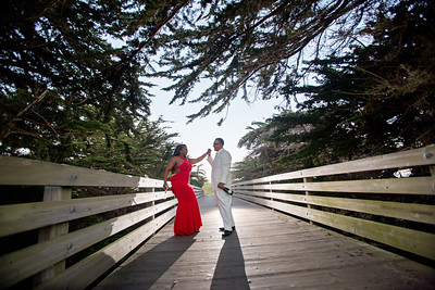Half moon bay Ritz Carlton engagement photos - Lavette and Francisco more photos-16