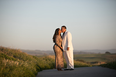 Half moon bay Ritz Carlton engagement photos - Lavette and Francisco more photos-34