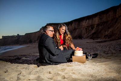 Half moon bay Ritz Carlton engagement photos - Lavette and Francisco more photos-23