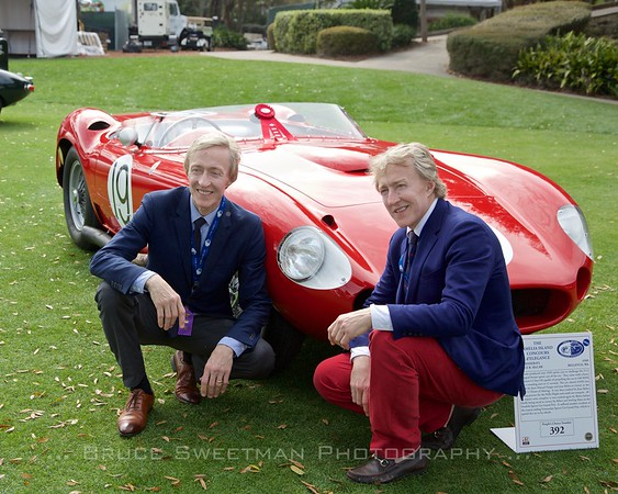 Leslie and Leigh Keno - 1957 Maserati 450S - owner Bruce McCaw