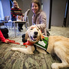 0120801-16KH Woodruff Library host Therapy Dog Visits. Shot for EPV stock