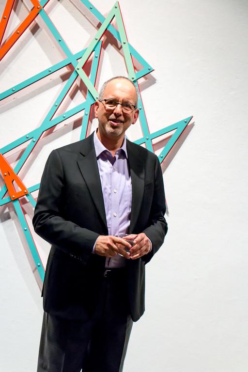 Brian Gross of Brian Gross Fine Art Gallery