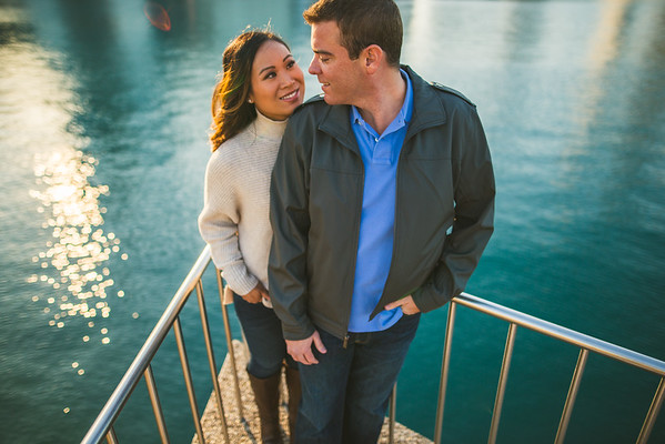 Liz & Brad :: engaged!