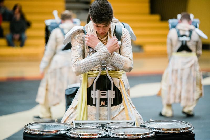 Drum Line First Dress Rehearsal [2018-2019]