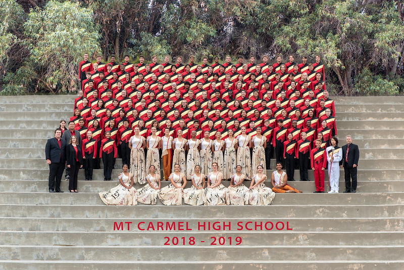 2018-2019 Mt Carmel Marching Band & Color Guard
