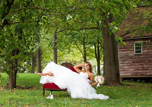 Bride in the Barn
