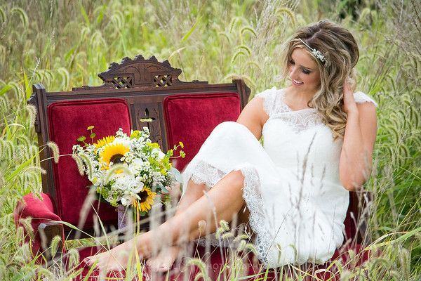 Fields and Flowers Bride