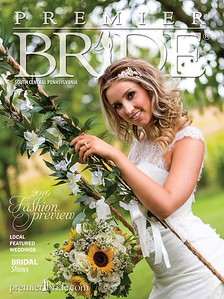 Premier Bride Magazine cover  2016