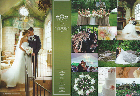 Shawna and Jon's featured  Wedding