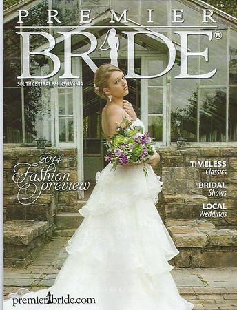 Premier Bride Magazine Cover