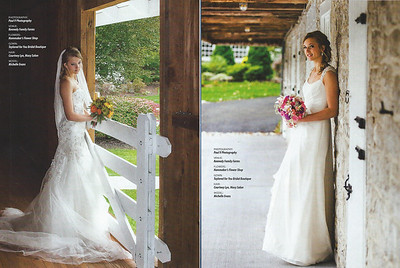 Kennedy Family Farms Wedding Fashion shoot