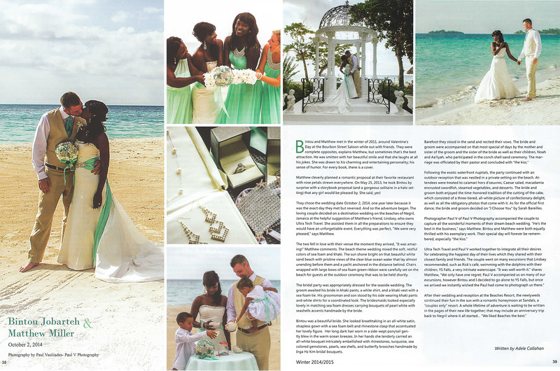 Matthew and Bintou's Destination Wedding