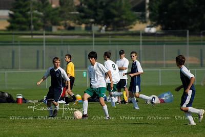 Mankato United U15 Boys vs St Peter 6-24-10