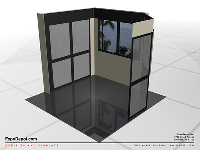 Mason, Custom 10' Booth Rendering