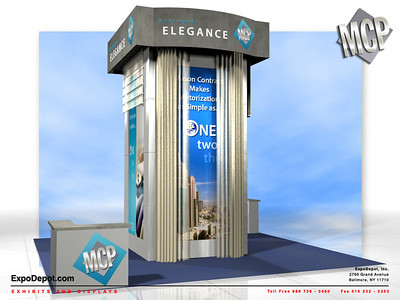 Mason, Custom 20' Island Tower Rendering