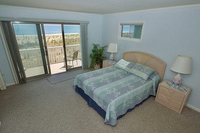 Master Bedroom with private bath & deck.2nd Floor.