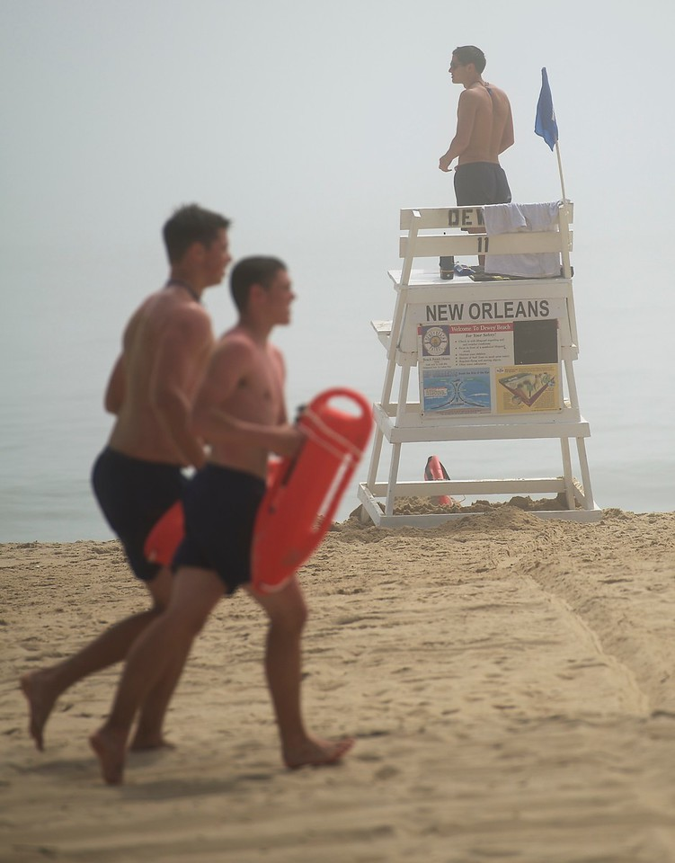 Dewey Beach Patrol(lifeguard service) is provided Memorial Day weekend through Labor Day weekend.