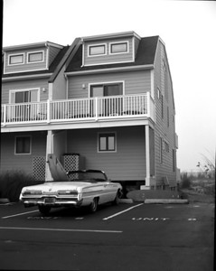 Dewey Beach House- front view-2 reserved parking spaces !