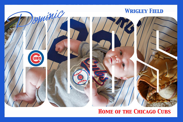 Dominic Cubs outline