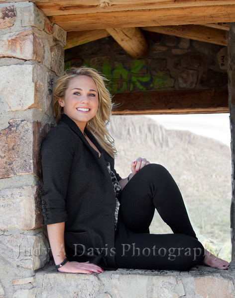 Senior Portraits 3313 Gates Pass, Tucson, Arizona, Judy A Davis Photography