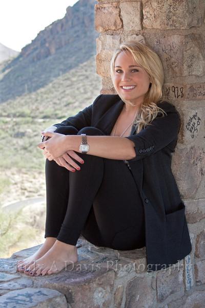 Senior Portraits 3321 Gates Pass, Tucson, Arizona, Judy A Davis Photography
