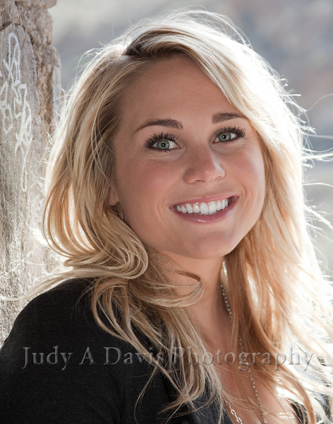 Senior Portraits 3344 Gates Pass, Tucson, Arizona, Judy A Davis Photography