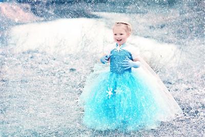 Hadley Frozen Photo shoot