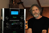 Bob Weir at home with his McIntosh gear