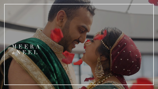 Meera + Neel - Wedding SDE with Credit Slate