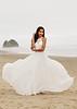 Bride on Canon Beach