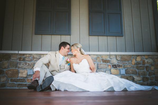 Megan & Brian: {married}!