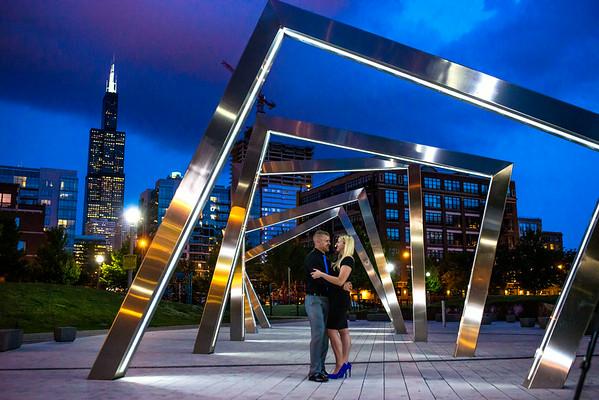 Megan & Travis: {engaged}!