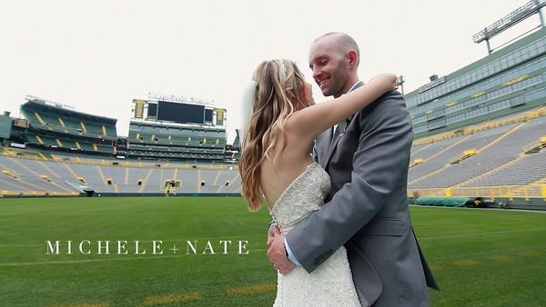 Michel + Nate Wedding Short Film @ Lambeau Field - Green Bay, WI_v3