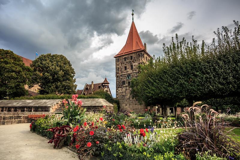 Burggarten in Nuremberg