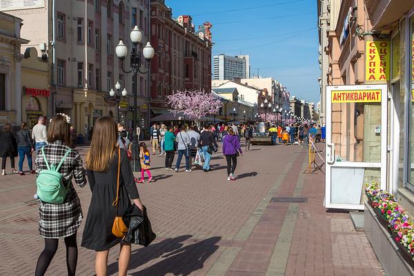 Arbat Street shopping district