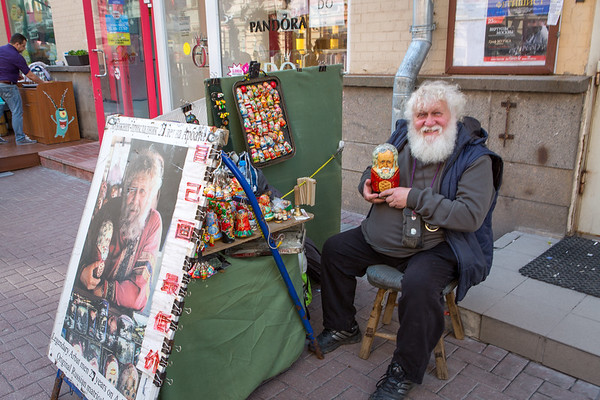 A friend I made on Arbat Street