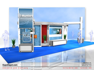 Munters, 15x40 Custom Display
