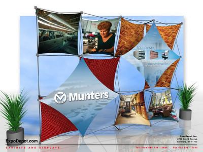 Munters, Xpressions 4x3   http://expodepot.com/xpressions-stretch-fabric-c-293.html