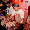 Stones Throw Records<br /> Stones Throw 45 Live :: Austin, TX<br /> <br /> SXSW Stones Throw showcase featuring Madlib, Peanut Butter Wolf, J.Rocc, DJ Rhettmatic, Dam-Funk, Amir & 14kt.