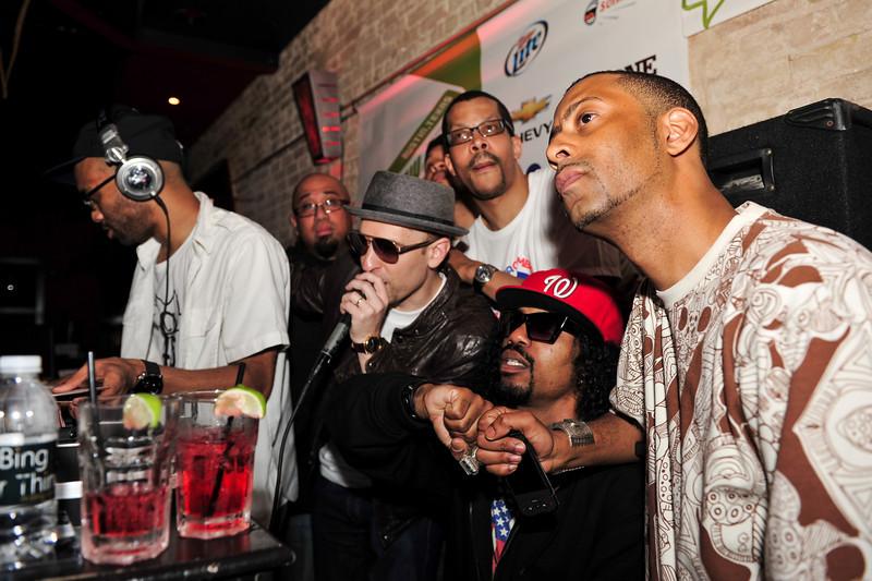 Stones Throw 45 Live<br /> SXSW :: Austin, TX<br /> <br /> Stones Throw Showcase featuring Madlib, Peanut Butter Wolf, J.Rocc, Dam-Funk, Amir, DJ Rhettmatic & 14kt.
