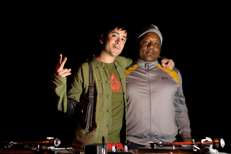 DJ Manny<br /> El John Selector of Thievery Corporation
