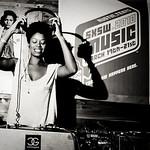 DJ Smiles Davis Los Angeles, CA  SXSW showcase by Wax Poetics, Dubspot, Soul of the Boot Entertainment, StrangeTribe Productions, Puma & Maker's Mark.