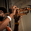 "Rebirth Brass Band<br /> New Orleans, LA<br /> <br /> The Rebirth Brass Band rose from the streets of New Orleans to international renown with a mix of the brass-band tradition and a refreshingly modern sensibility. The Rebirth Brass Band mastered the traditional jazz sound of their hometown and then melded it with funk, R&B and, most recently, hip-hop, they are as capable with spirituals and rags as it is with brass-band boogie.<br /> <br /> Formed in the early '80's by Philip Frazier, Keith Frazier and Kermit Ruffins, all former schoolmates, the band has evolved from playing the streets of the French Quarter to playing festivals and stages all over the world. The band is a regular highlight of the New Orleans Jazz & Heritage Festival, where their 1982 performance led to a record deal, and a strong loyal audience following. As always, the Rebirth Brass Band promises to get the party started Crescent City-style and then take listeners on a stirring ride through traditions old and new.<br /> <br /> Kermit Ruffins has moved on to form his own band The Barbeque Swingers, and has himself become quite the local celebrity. Rebirth's longstanding regular Tuesday night gig at the Maple Leaf Bar in New Orleans has become a mainstay on the city's music itinerary. Their drummer Derrick Tabb, was in 2009 picked as a finalist for the CNN Heroes award, for his founding commitment to the Roots of Music after school program in the city of New Orleans.<br /> <br /> Rebirth, as they are affectionately known in the Big Easy, is always on call and have earned their reputation by showing up and ""taking it to the streets.""<br /> <br /> In the ongoing wake of the disaster that was/is Katrina, Rebirth has taken become a role model for young musicians to look up to in learning about and maintaining their long and rich musical heritage.<br /> <br /> The current line up of the band is Phil Frazier-Tuba, Keith Frazier-Bass Drum, Derek Shezbie-Trumpet, Glen Andrews- Trumpet, Stafford Agee-Trombone, Corey Henry-Trombone, Derrick Tabb-Snare Drum, Vincent Broussard-Saxophone, and Chaderick Honore-Trumpet <br /> <br /> Video:  <a href=""http://www.youtube.com/watch?v=3E1VBCcA76E"">http://www.youtube.com/watch?v=3E1VBCcA76E</a>"