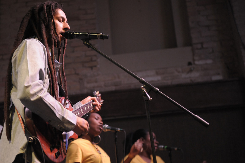 Julian Marley<br /> Kingston, Jamaica<br /> <br /> Julian Marley, son of reggae legend Bob Marley and Barbados-born Lucy Pounder, is a naturally talented musician, singer, songwriter, and entertainer.  As you would expect, this tall, slender Marley is a devout Rastafarian whose music is inspired by life and spirituality.  His positive messages are delivered throughout Awake, a thought-provoking album compiled on the Ghetto Youths International label.  Recorded at the Lion's Den in Miami, Florida, and Tuff Gong in Kingston, Jamaica, the music and message presented throughout Awake is inspired by all the family who have come before.