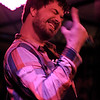 "Aesop Rock<br /> New York, NY<br /> <br /> Aesop Rock is an American hip hop artist and producer. He was at the forefront of the new wave of underground and alternative hip hop acts that emerged during the late 1990s and early 2000s. He is signed to El-P's Definitive Jux label and is a current member of The Weathermen. Regarding his name, he said: ""I acquired the name Aesop from a movie I had acted in with some friends. It was my character's name and it sort of stuck. The rock part came later just from throwing it in rhymes."""