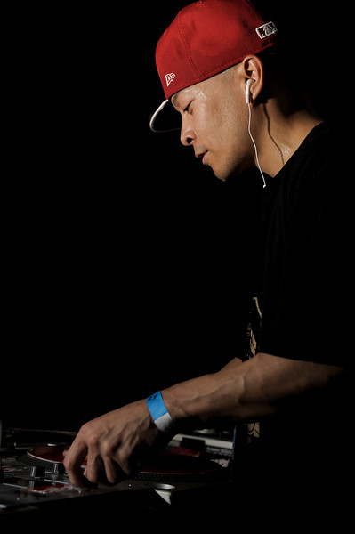 "DJ Qbert<br /> San Francisco, CA<br /> <br /> Richard Quitevis, better known as DJ Qbert to fans throughout the world, has attracted attention since 1985 when audiences realized his skills on the turntables were beyond comprehension. Through years of creativity, imagination, practice, and dedication he developed the art of using the turntable as a musical instrument by inventing unimaginable styles and creating unique systems of skratching. Today turntablism continues to advance and branch out into diversified directions. History established that DJ Qbert, currently a member of the Invisibl Skratch Piklz (ISP), heralded a new era in the DJ/turntablist community, and helped raise this art to its new form.<br /> <br /> Heavily influenced by the styles of world-renowned jazz musician Miles Davis, famous electric guitarists Jimmy Hendrix and Les Paul, pianist Thelonius Monk, and original and innovative DJs throughout the world, DJ Qbert interprets their compositions to create sounds and styles that continue to generate a worldwide following. In the early 90's, DJ Qbert dominated the DJ scene with his talent and skills. After claiming the titles of the Disco Mixing Club (DMC) 1991 USA Champion and the 1992-1994 DMC World Champion, he was asked by the DMC founders to judge the 1995 DMC Championships instead of actually competing. In June 1998, DJ Qbert, along with another member of ISP, MixMaster Mike, received the DMC DJ Hall of Fame award for outstanding contributions to the competition and more importantly, the industry.<br /> <br /> The most documented DJ in the world, DJ Qbert has been featured in numerous local and national publications including Details, XXL, Spin, Jazziz, and the Bay Area Magazine (BAM), as well as international magazines and newspapers. In January 1998, DJ Qbert and the ISP crew graced the cover of the highly circulated URB magazine.<br /> <br /> Also in 1998 DJ Qbert appeared in two international movies: Hang The DJ and Modulations. Both films appeared in highly respected film festivals. The former was shown at the Cannes Film Festival held in Cannes, France, and the latter emerged at the Sundance Festival in Colorado. The documentary Hang The DJ, featured DJ Qbert and his unbelievable techniques. His impact on the world DJ culture and the industry has influenced artists not only in the hip-hop genre, but in all music categories. Modulations, a film documenting the history and culture of electronic music highlighted DJ Qbert and his skills on the turntable.<br /> <br /> In November 1998, DJ Qbert released his solo debut album Wave Twisters. This concept album, presents a story about an entire civilization residing in inner space, and the only form of communication is through the sounds of skratching. It will be followed by a full-length animated film, which is expected to premier in the summer of 2000. This film is the world's first hip-hop concept-album cartoon, which adds to the uniqueness and superiority of DJ Qbert's album Wave Twisters. DJ Qbert is considered the greatest DJ/turntablist in the world and of all time. His album Wave Twisters captured audiences worldwide. This album delivers DJ Qbert's solo improvisations, along with songs created through breaking all types of instruments into intricate symbols. The first skratch concept album ever created made its debut November 10, 1998.<br /> <br /> Video:  <a href=""http://www.youtube.com/watch?v=a_FFe7lmPuA"">http://www.youtube.com/watch?v=a_FFe7lmPuA</a>"