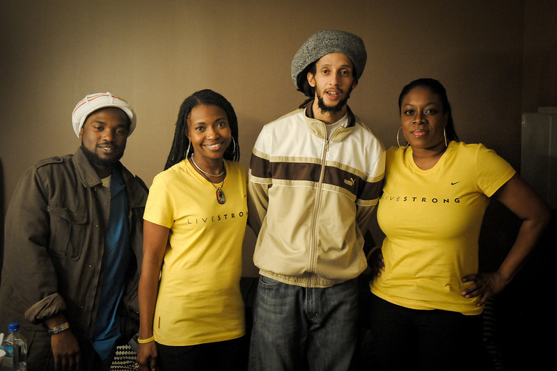 """Julian Marley<br /> Kingston, Jamaica<br /> <br /> This photo is being used by Lance Armstrong's company, Livestrong, and can be seen here: <a href=""""http://www.flickr.com/photos/livestrongarmy/4306862902/in/photostream/"""">http://www.flickr.com/photos/livestrongarmy/4306862902/in/photostream/</a>"""