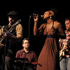 "Akina Adderley & the Vintage Playboys<br /> Austin, TX<br /> <br /> Akina Adderley & the Vintage Playboys is an Austin Soul band whose unique sound blends elements of Rock, Funk, and old-school R&B. Front person/vocalist Akina lights up the stage as ""the little woman with the big voice."" Granddaughter of jazz trumpet great Nat Adderley, great niece of jazz saxophone legend ""Cannonball"" Adderley and daughter of Nat Adderley, Jr. (producer/pianist/band leader for Luther Van Dross), Akina brings a distinguished musical pedigree to the Vintage Playboys, who are a tight group of seasoned players from an eclectic musical background.<br /> <br /> The brainchild of four inspired musicians, AAVP is now a powerhouse 9-piece, and has become a vital part of Austin's newly resurrected ""Soul Scene."" The band has been playing for nearly 3 years, and has shared bills with such acts as Big Sam's Funky Nation, Gary Clark, Jr., T-Bird & the Breaks, Pinetop Perkins, The Greyhounds, and Carolyn Wonderland. On the heels of a tremendously well-received SXSW '09 showcase, a successful taping for Radio Without Borders on Austin's KUT 90.5 FM, and an enthusiastically welcomed debut album release, AAVP's fans and audiences are steadily gaining numbers.<br /> <br /> AAVP's eponymous debut full-length record was released on March 28, 2009. The album is available on iTunes and CDBaby.com, as well as in Austin at Waterloo Records, Antone's Records, and Cheapo Disks. SHAKE IT LIKE A TAMBOURINE!"