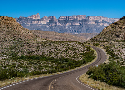 Road to Boquillas